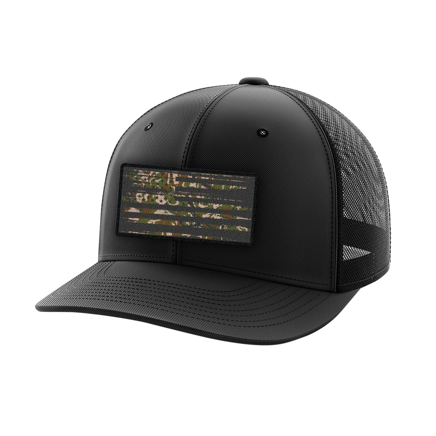 Headwear - Camo Flag Patch | Flexfit Cap
