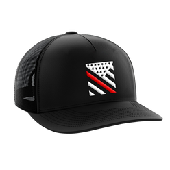 Headwear - Red Line Crest | Snapback Hat