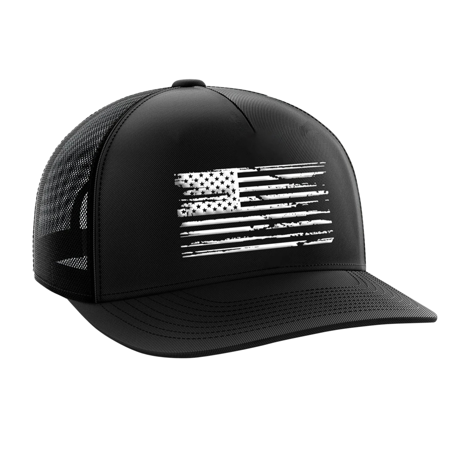 White Flag Black | Snapback Hat