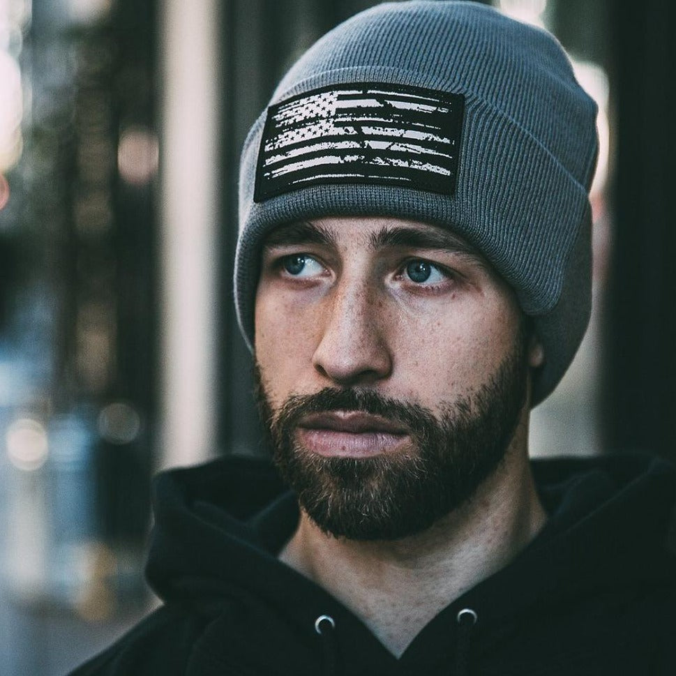 White Flag Gray | Beanie