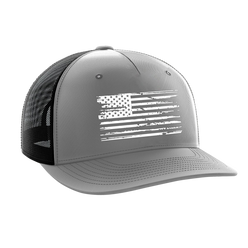 Headwear - White Flag Gray | Snapback Hat