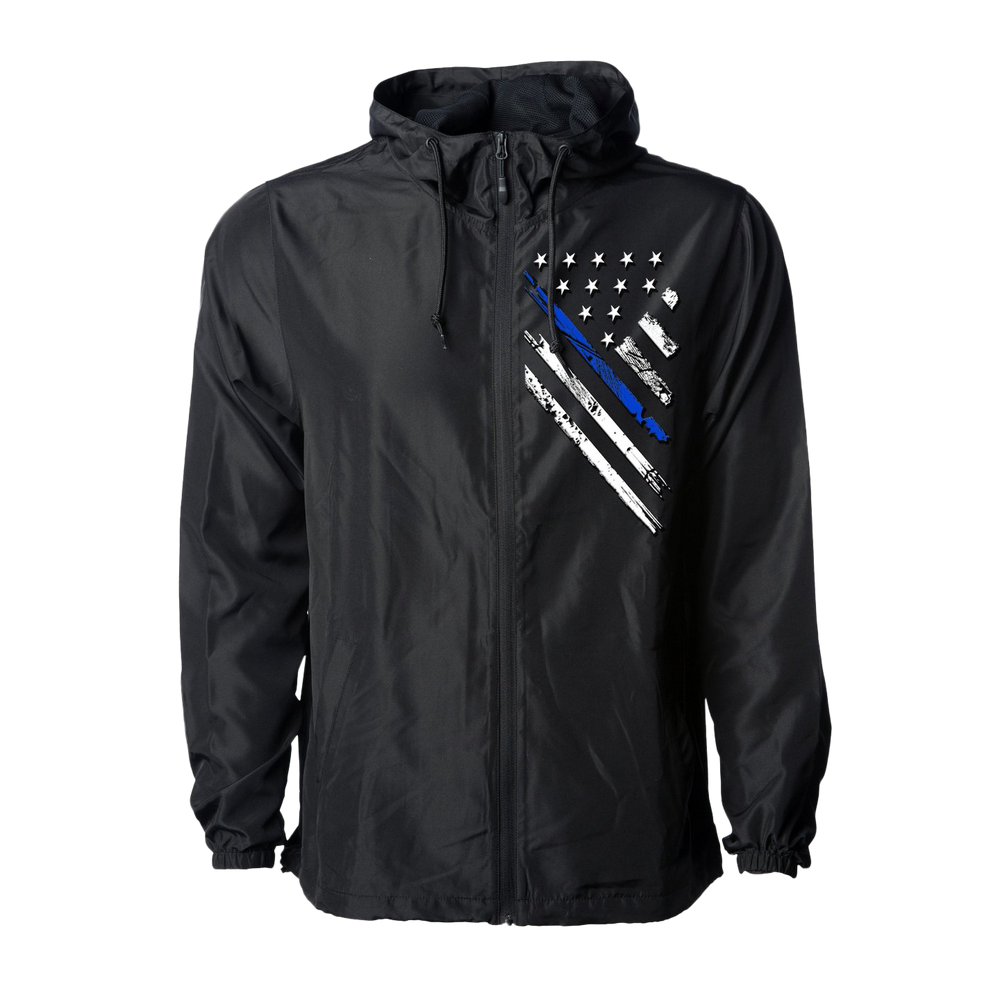 Jacket - Blue Line Crest Windbreaker | Jacket