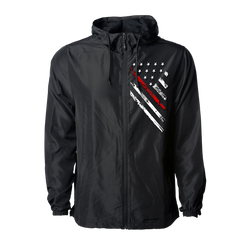 Jacket - Red Line Crest Windbreaker | Jacket