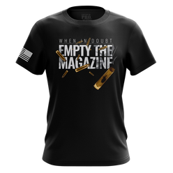 Mens Shirt - Empty The Mag  | Mens Tee