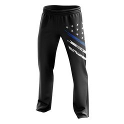Sweatpants - Blue Line Crest Flag | Sweatpants