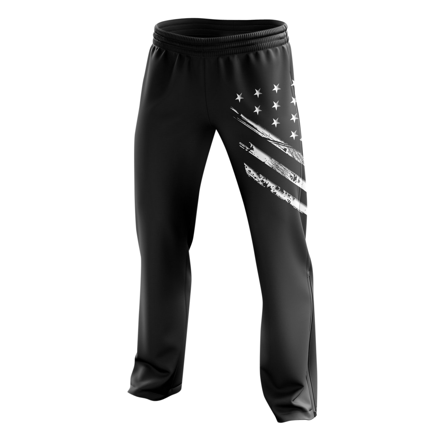 Sweatpants - White Crest Flag | Sweatpants