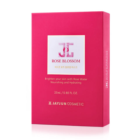JAYJUN ROSE BLOSSOM MASK 25 ml x 10 sheets