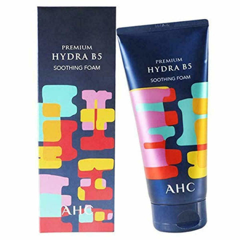 A.H.C Hydra B5 Soothing Foam Cleanser 180ml - AHC