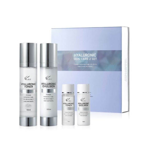 AHC [A.H.C] Hyaluronic Skin Care 2 Set (Toner + Emulsion) - Korea / K-beauty