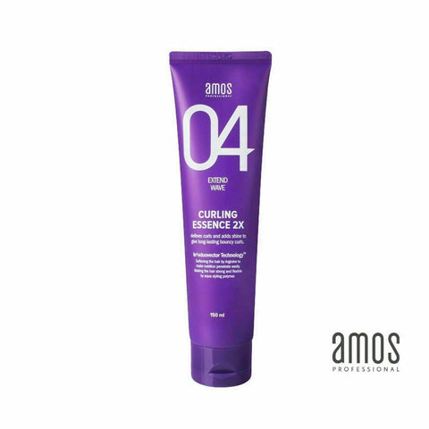 AMOS Professional Curling Hair Essence 2X for Extend Wave - 150ml/5oz