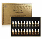K-Beauty  Bergamo Luxury Gold Collagen & Caviar Wrinkle Care Repair Ampoule Set