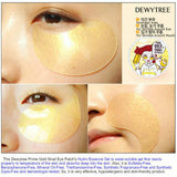 [DEWYTREE] Prime Gold Snail Eye Patch 90g (60 pcs)