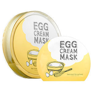 Too Cool For School Egg Cream Mask Pack (5pcs)