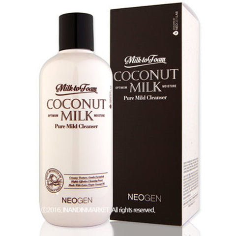 NEOGEN COCONUT MILK PURE MILD CLEANSER 300ml / 9.9 FL.OZ.