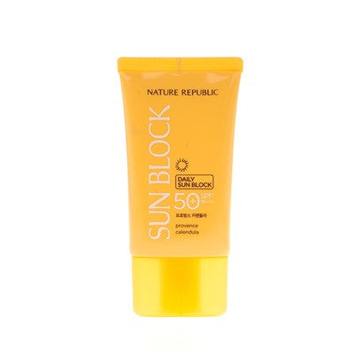 Nature Republic Provence Calendula Daily Sun Block Spf50 / Pa+++