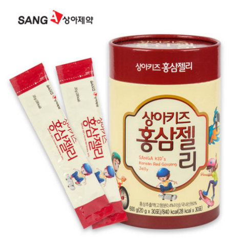 Sanga Pharmaceutical Kids Korean Red Ginseng Jelly