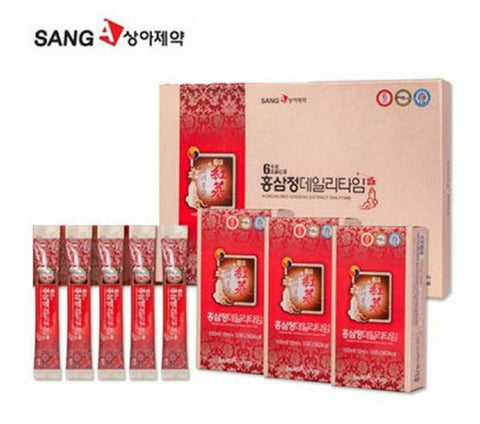 SangA Pharm Korean Red Ginseng Extract Daily Time Stick 10mlx30 Improve immunity