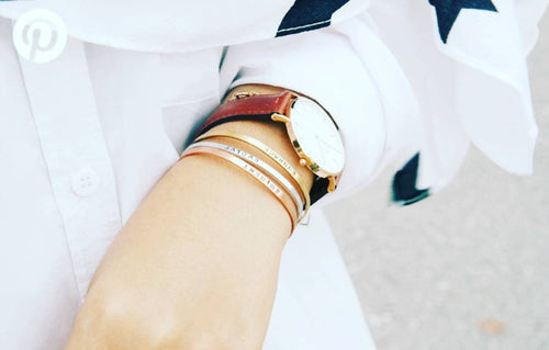 Rose gold / Gold / Sterling silver stackables Skinny Cuff