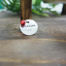 Handmade pet tag