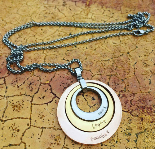 Perfextion circle necklace [PREORDER 2 WEEKS]