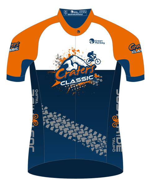 CRATERS CLASSIC event jersey - Green Monkey Velo