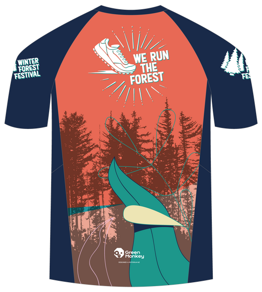 2020 We Run the Forest Official Running T-shirts