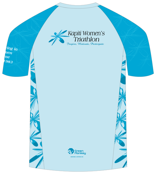 Kapiti Coast Tri Womens T-shirt