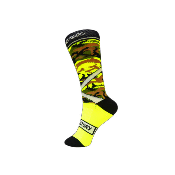 Green ChramberX Socks - Green Monkey Velo