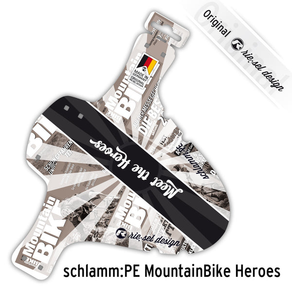 Mountain Bike HEROES Mudguard - Green Monkey Velo