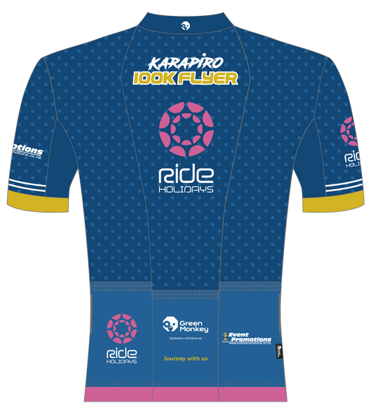 2020 MOA KARAPIRO 100km Flyer event jersey