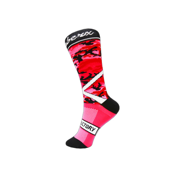 Pink ChramberX Socks - Green Monkey Velo