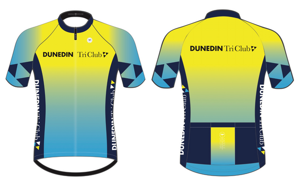 Dunedin TRI club jersey - Green Monkey Velo
