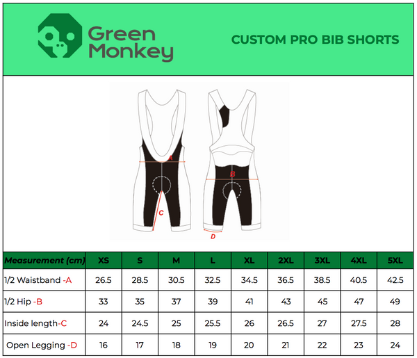 Motu Trails Cycling Kit - Green Monkey Velo