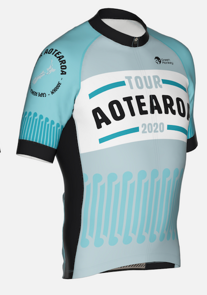 Future Koru - Tour Aotearoa 2020 Mens Jersey - Green Monkey Velo