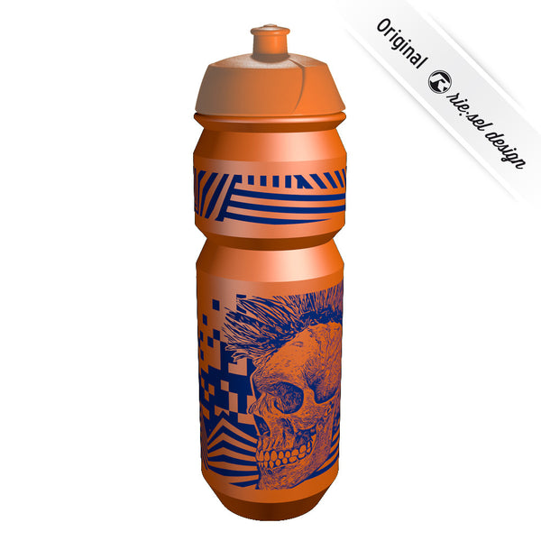 Skull Orange Bottle - Green Monkey Velo