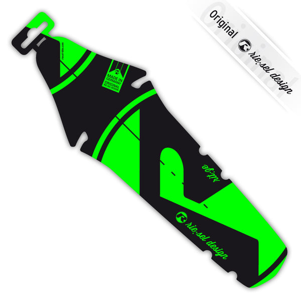 Bright Green Rear Fender - Green Monkey Velo