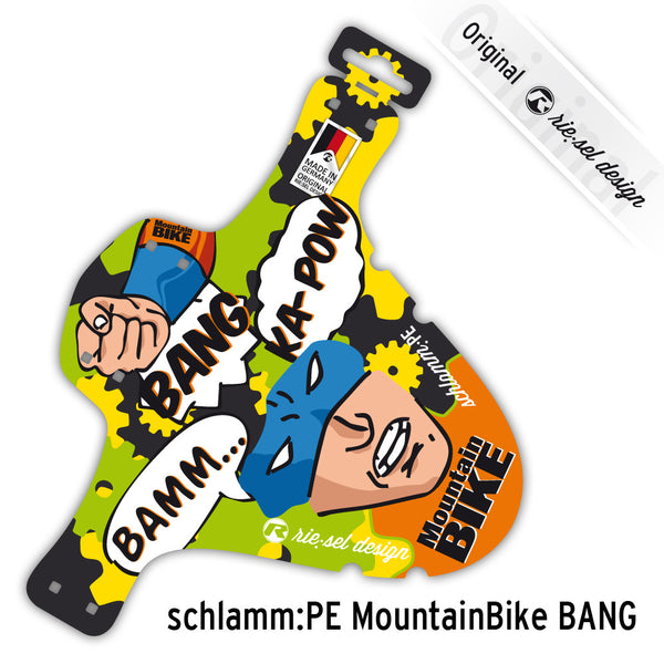 Mountain Bike BANG Mudguard - Green Monkey Velo