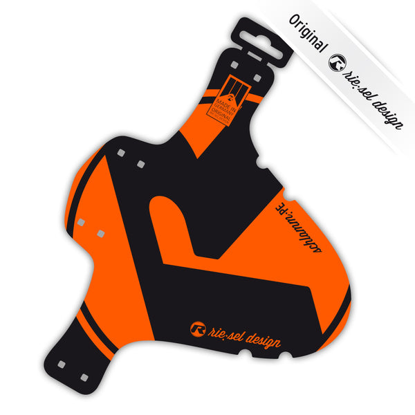 2017 MTB Mudguard Orange - Green Monkey Velo