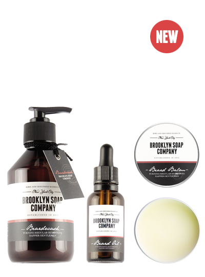 Pack barba cuidada de Brooklyn Soap Co.