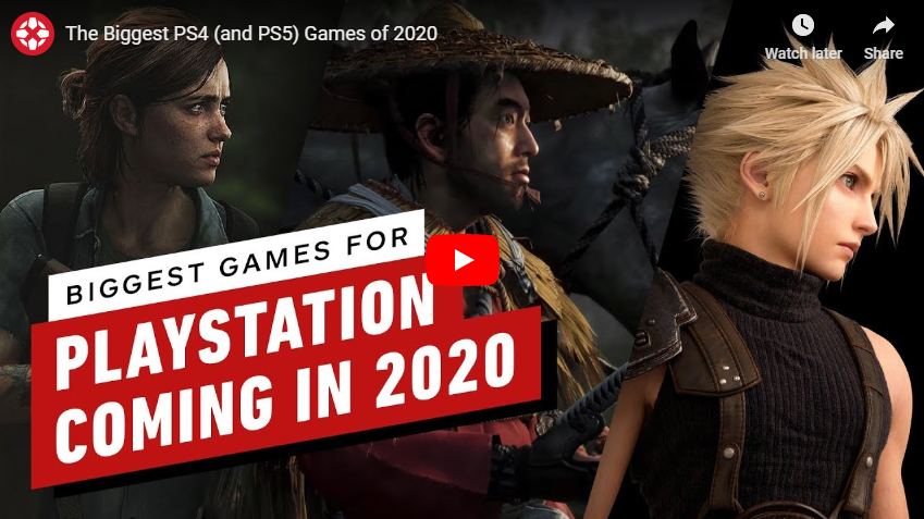 The Biggest PS4 (and PS5) Games of 2020