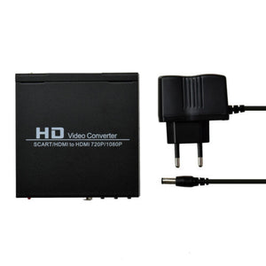 AV Audio Video Scart to Coaxial HDMI Adapter Converter Box