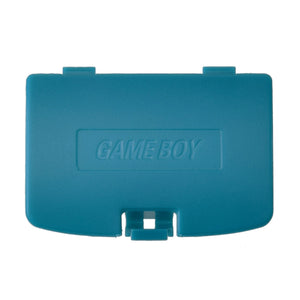 Nintendo Gameboy Battery Cover Door Green Blue
