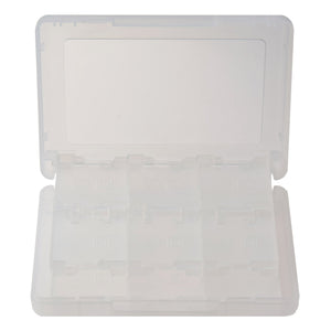 Nintendo 3DS 28 in 1 Game Card Memory Card Stylus Storage Case White