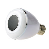 BL08A Smart Bluetooth 4.0 Music Speaker App-Controlled Lamp LED Bulb
