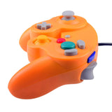 Wii GameCube Vibration Joypad Controller GC Orange