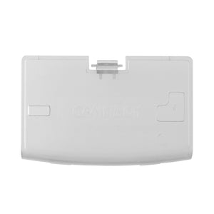 Gameboy Advance Battery Cover Door Clear White