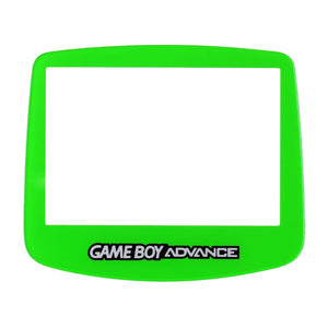 Nintendo GameBoy Advance Replacement Clear Screen Plastic Green