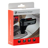 Dual USB Bluetooth Car Charger Support MP3 Player FM Transmitter Hands-free