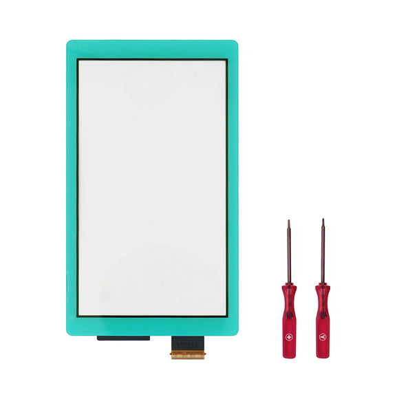Touch Screen Digitizer for Nintendo Switch Lite Blue WITH SCREWDRIVER