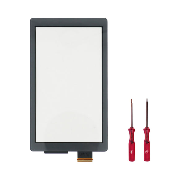 Touch Screen Digitizer for Nintendo Switch Lite Grey with Screwdriver